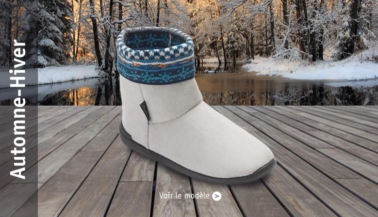 chaussons et pantoufles hiver homme et femme
