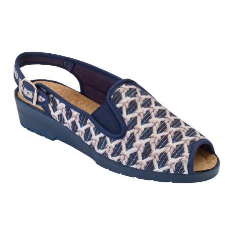 Sandale NACRE Femme marine