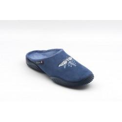 Mule BELUL Femme bleu ou fuschia