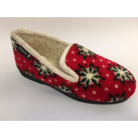 Chausson PERNOEL Femme rouge