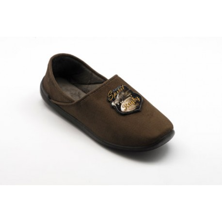 Chausson RUCH Homme marron
