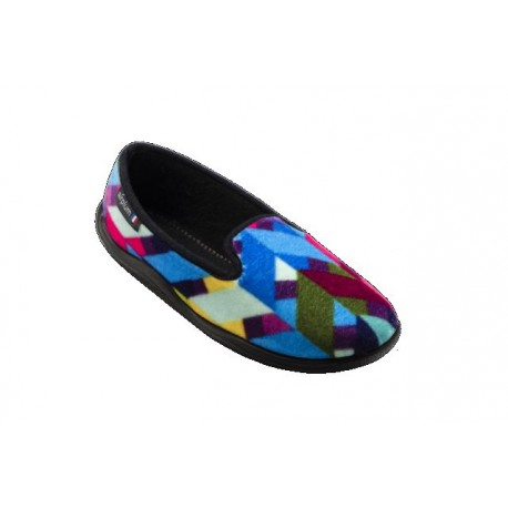Chausson ZIFFON Femme multicolore
