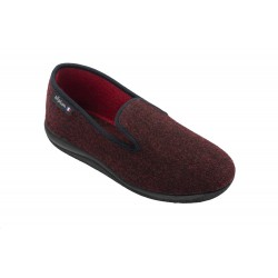 Chausson WHISKY Homme anthracite ou rouge