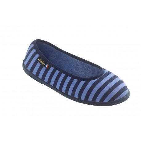 Ballerine JUMEL Femme bleu ou fushia