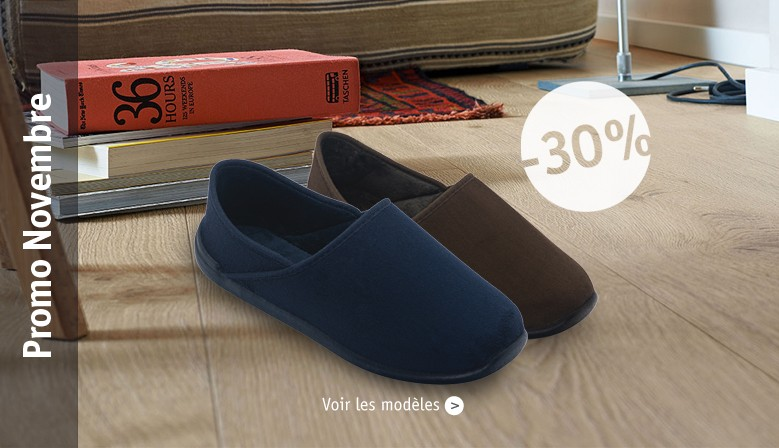Chausson hiver homme